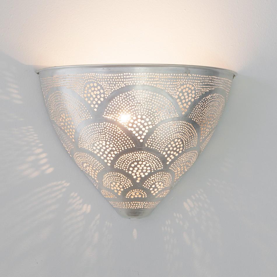 Wall Lamp Egg Fan Silver Pp Www Maisonetlumiere Com